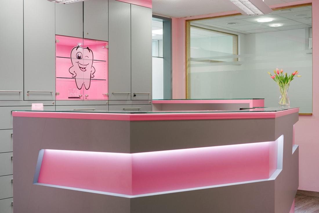 Praxis - Zahnarzt Nürnberg am Plärrer - Frau Grammatikopoulou - Behandlungszimmer
